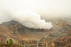 Poás Volcano Crater Fumarole Royalty Free Stock Photography