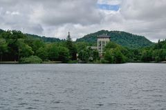 PoÄ  úvadlo - λίμνη Στοκ εικόνες με δικαίωμα ελεύθερης χρήσης