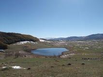 The Pošćensko Lake Royalty Free Stock Images