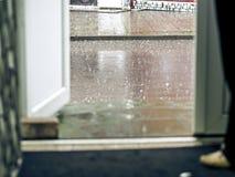 A poça da chuva Imagem de Stock