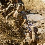 Poças de lama Fotos de Stock Royalty Free