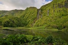 Poço da Alagoinha, Flores island, Azores, Portugal Stock Images