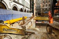 Poço da construção Fotografia de Stock