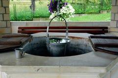 Poço de água Foto de Stock Royalty Free