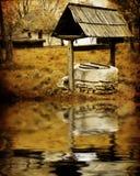 Poço de água antigo Fotografia de Stock