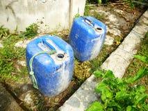 Poço de água azul Fotos de Stock Royalty Free