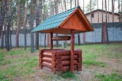 Poço de água do campo Imagem de Stock Royalty Free