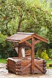 Poço de madeira Foto de Stock