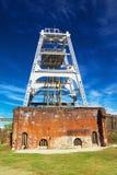 Poço de Miyahara da mina de carvão de Miike em Omuta Japão Foto de Stock Royalty Free