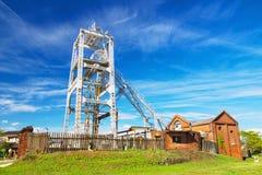 Poço de Miyahara da mina de carvão de Miike em Omuta Japão Fotografia de Stock Royalty Free