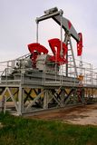 Poço de petróleo Imagem de Stock