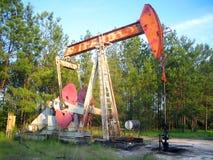 Poço de petróleo Foto de Stock