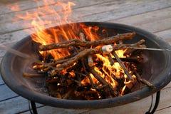 Poço do fogo Foto de Stock