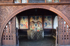 Poço do monastério Fotografia de Stock Royalty Free