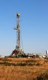 Poço do petróleo & de gás natural Foto de Stock