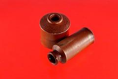 Poços da tinta da argila do vintage Imagem de Stock Royalty Free