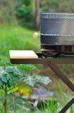 Poêle de barbecue Image libre de droits