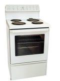 Poêle de cuisine blanc Photographie stock libre de droits
