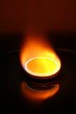Poêle de gaz Image stock