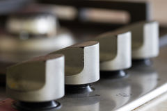 Poêle de gaz Photo stock