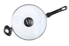 Poêle de wok - image courante Image libre de droits