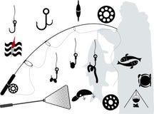 połów royalty ilustracja