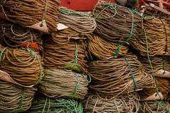 Alaskie połów arkany zdjęcia stock