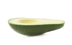 Połówka avacado owoc odizolowywająca Fotografia Royalty Free