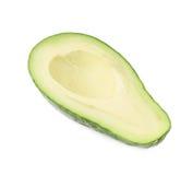 Połówka avacado owoc odizolowywająca Obraz Stock
