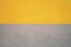 Połówka malująca betonowa ściana Zdjęcie Royalty Free