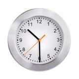 Połówka za dziesięć na zegarze fotografia stock