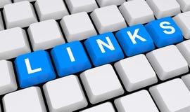 Połączenia na klawiaturze Zdjęcie Stock