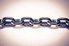 połączenie łańcuszkowy metal Obraz Royalty Free