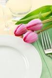położenia wiosna stół Zdjęcie Royalty Free