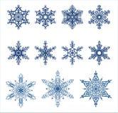 położenie płatki śniegu royalty ilustracja