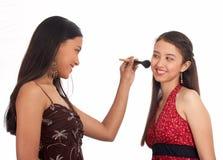 położyć się na młodych kobiet Obraz Stock
