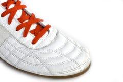 połowa buty sportowe zdjęcia stock
