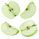 połowa jabłczana Fotografia Stock