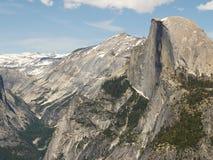 połowa kopuły Yosemite Obrazy Royalty Free
