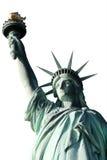 połowa pojedynczy liberty posągu na szczyt Obrazy Stock