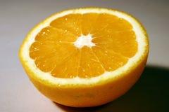 połowa pomarańcze Zdjęcia Stock