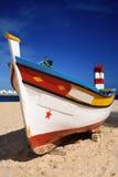 połowu łódkowaty portuguese Zdjęcie Royalty Free