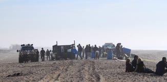 połowu łódkowaty ratunek Zdjęcia Royalty Free