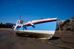 połowu łódkowaty schronienie Zdjęcie Stock
