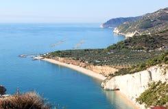 Połowu przemysł w Adriatyckim morzu, Włochy Obraz Stock