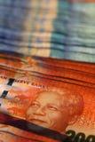 Południe - afrykańscy skrajów banknoty Fotografia Stock