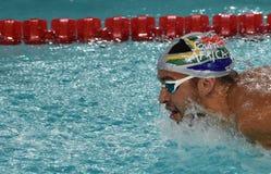 Południe - afrykańska Olimpijska i światowa mistrz pływaczka Czad Le Clos Zdjęcie Royalty Free