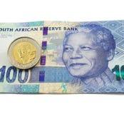 Południe - afrykańska waluta Zdjęcia Stock