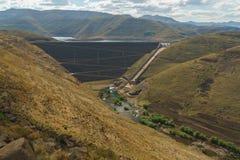 Południe - afrykańska wody pitnej tama Obrazy Royalty Free