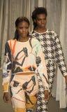 Południe - afrykański moda tydzień Kolekcja kilwaterem wybieg Obrazy Royalty Free